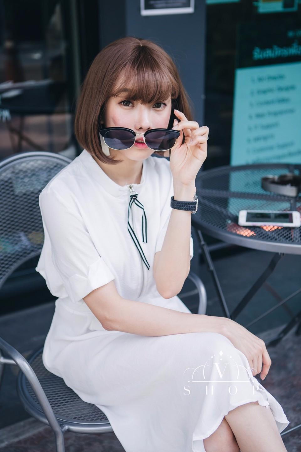 เดรสสไตล์เกาหลีน่ารักๆ